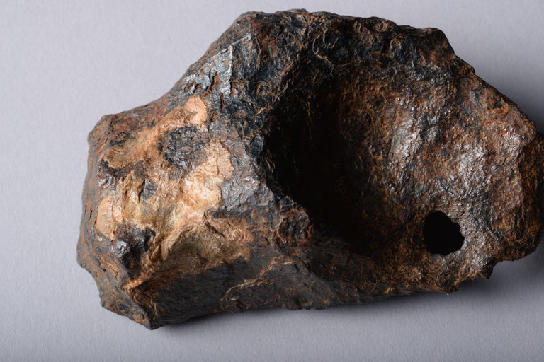 18th Century and Earlier Sculptural Canyon Diablo Iron Octahedrite Meteorite For Sale