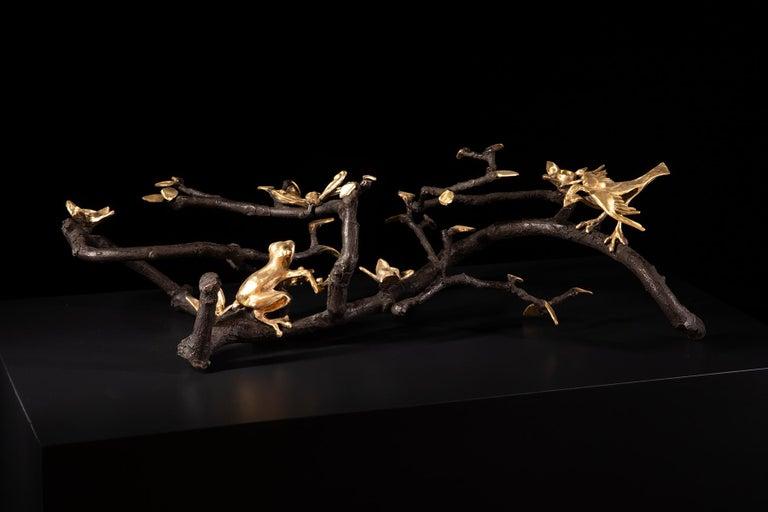 Organic Modern Sculptural Centerpiece by Paula Swinnen, Belgium, 2020