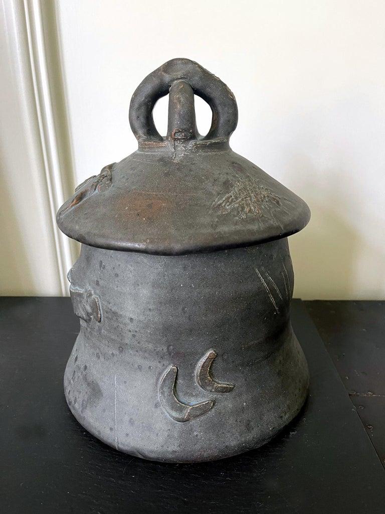 Modern Sculptural Ceramic Ashanti Jar Robert Turner Published For Sale