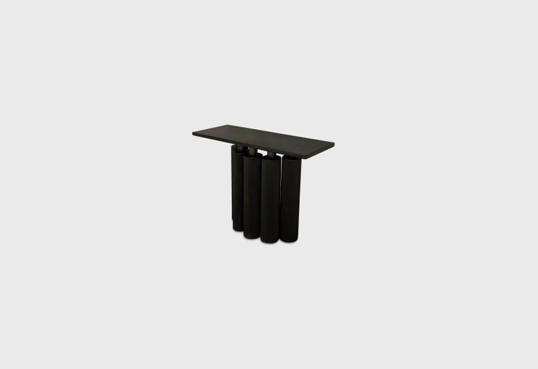 Options: Sugi Ban textured wood and charcoal walnut top. Designer: Alexander Diaz Anderson Dimensions: H 120 x D 45 x W 90    All your items are customizable to your requirements and specifications.