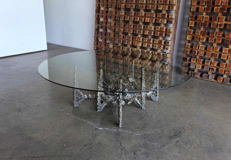 Sculptural Coffee Table by Daniel Gluck For Sale 1
