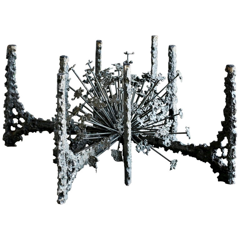 Sculptural Coffee Table by Daniel Gluck For Sale