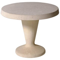 Sculptural Concrete Side Table, Italy, 1960s