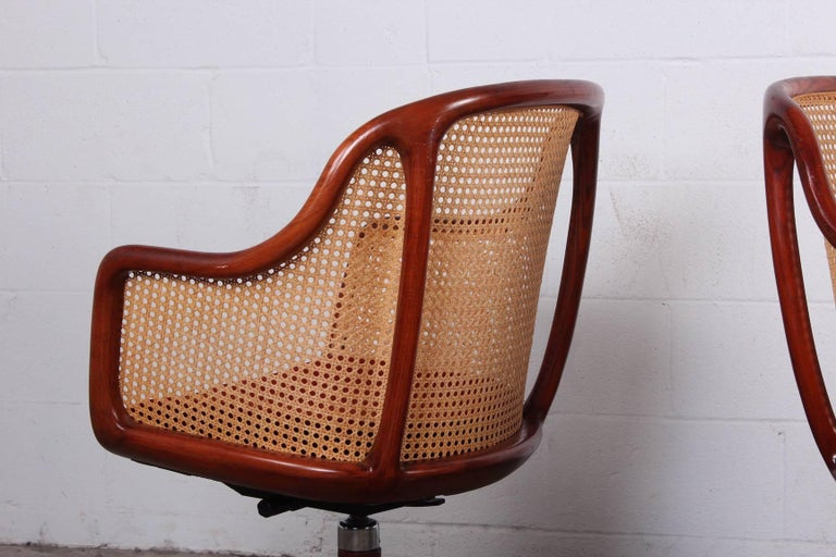 Mid-20th Century Sculptural Desk Chair by Ward Bennett For Sale