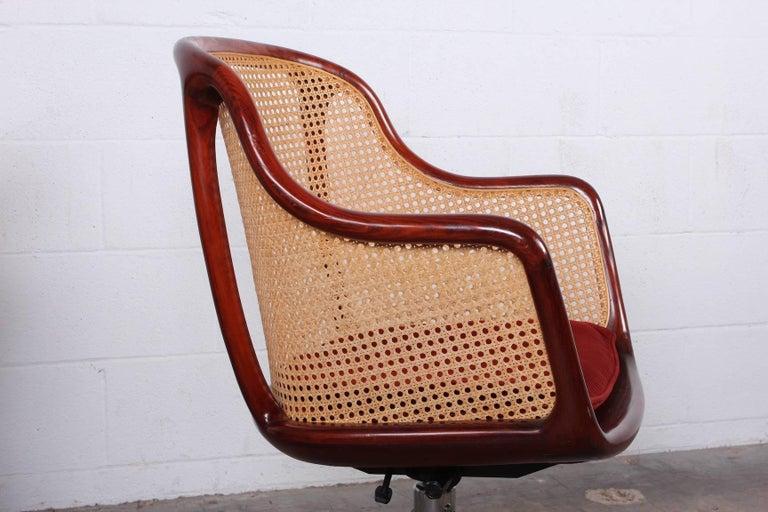 Sculptural Desk Chair by Ward Bennett For Sale 2