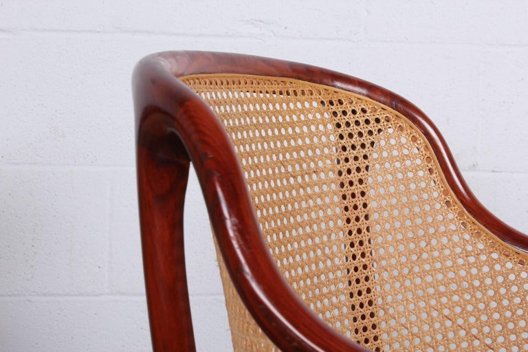Sculptural Desk Chair by Ward Bennett For Sale 3