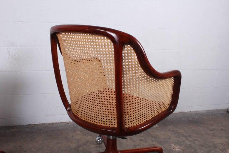 Sculptural Desk Chair by Ward Bennett For Sale 4