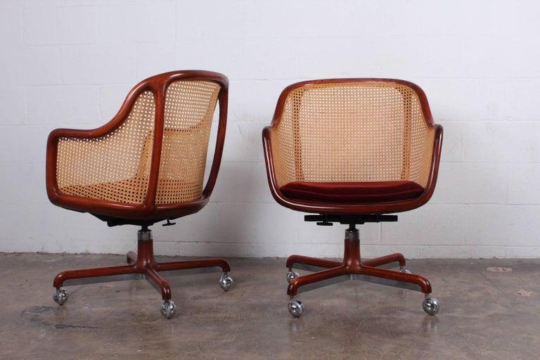 Sculptural Desk Chair by Ward Bennett For Sale 5