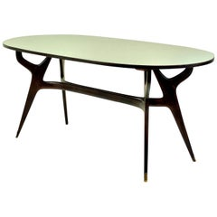 Sculptural Dining Table by Ico Parisi