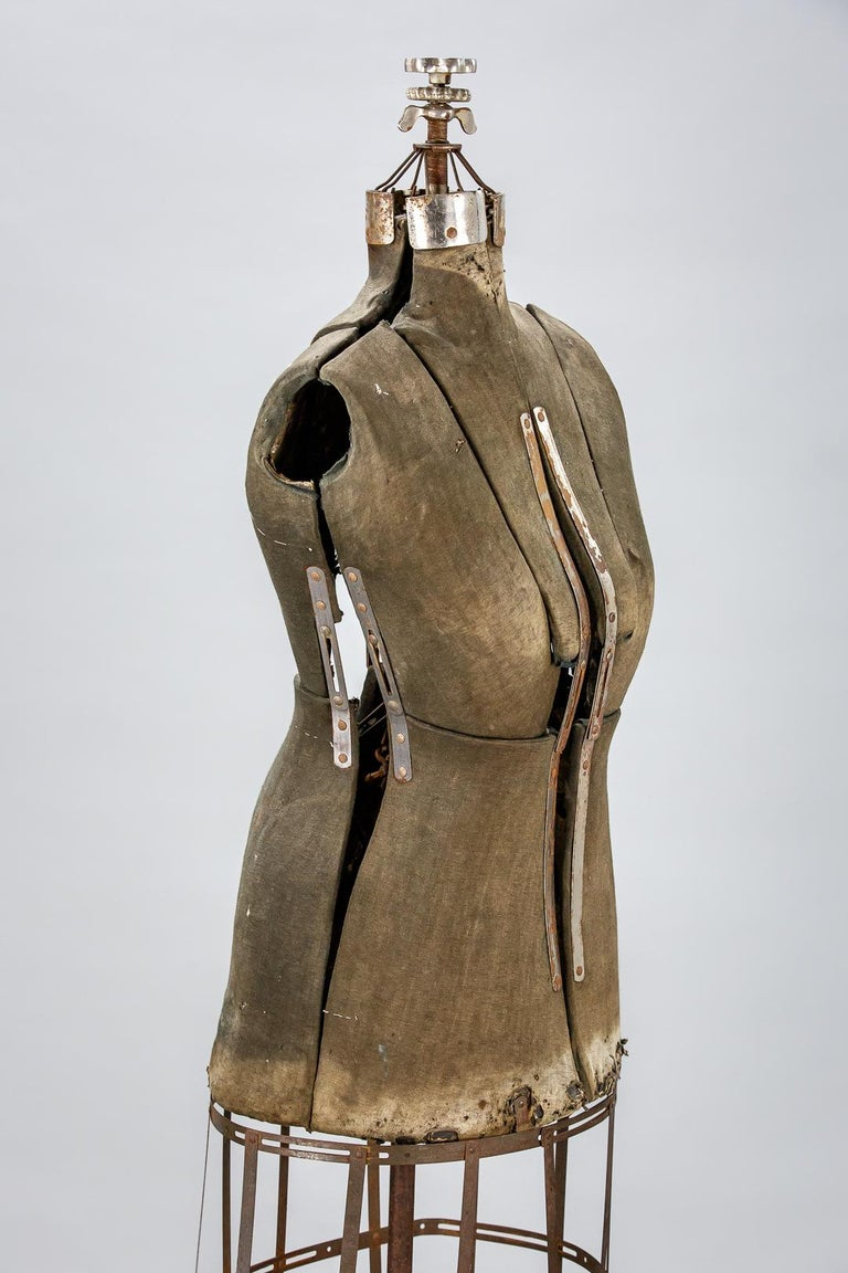 Sculptural Early 20th Century Dressmakers Mannequin For Sale 2