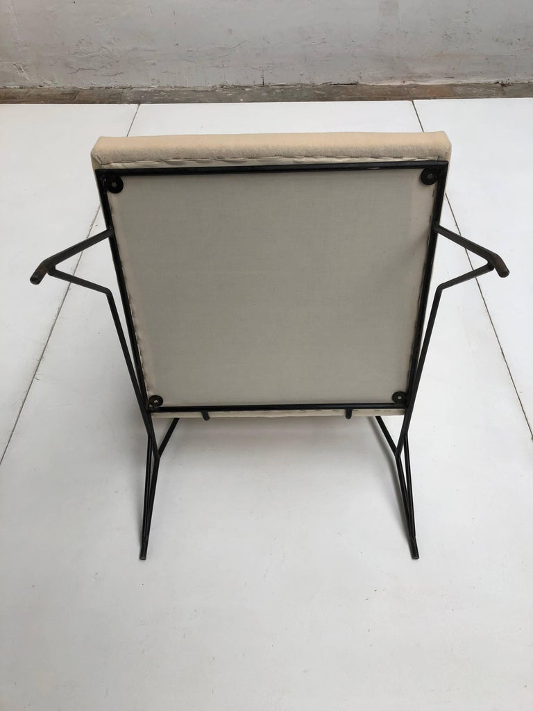 Sculptural Form Lounge Chair Attributed to Ravegnati & Vincenzi for D'arbo, 1950 For Sale 2