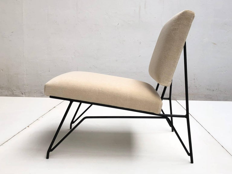 Sculptural Form Lounge Chair Attributed to Ravegnati & Vincenzi for D'arbo, 1950 In Good Condition For Sale In bergen op zoom, NL
