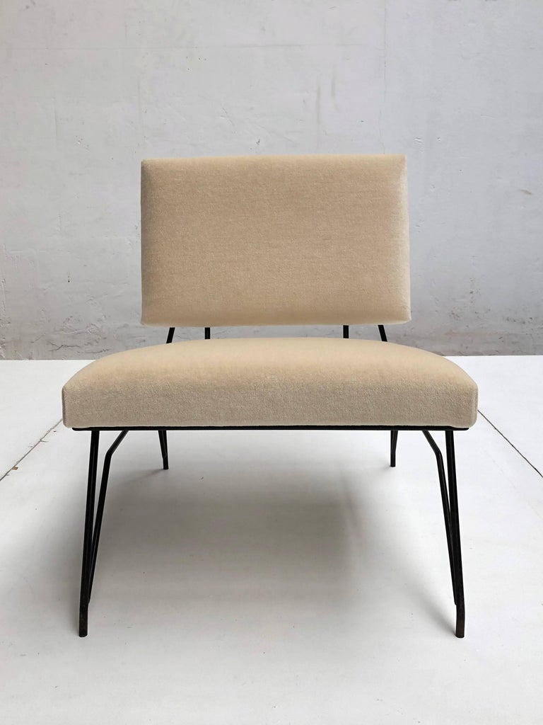 Mid-20th Century Sculptural Form Lounge Chair Attributed to Ravegnati & Vincenzi for D'arbo, 1950 For Sale