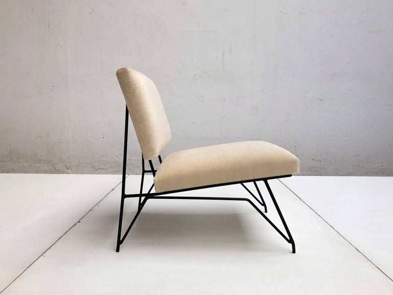 Sculptural Form Lounge Chair Attributed to Ravegnati & Vincenzi for D'arbo, 1950 For Sale 1