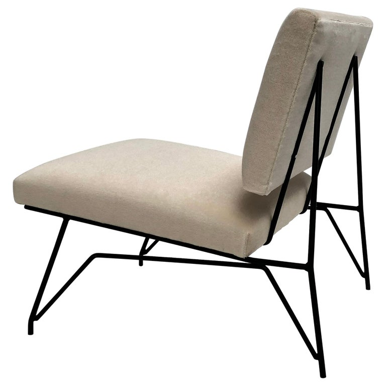 Sculptural Form Lounge Chair Attributed to Ravegnati & Vincenzi for D'arbo, 1950 For Sale