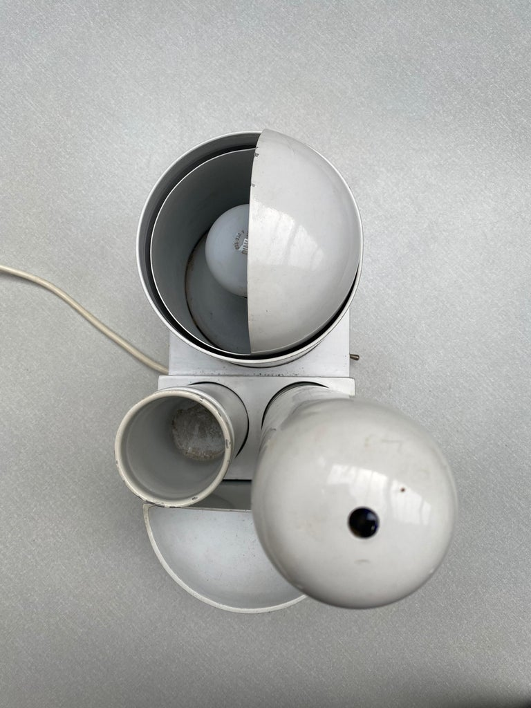 Sculptural form 'Rimorchiatore' Table Lamp by Gae Aulenti for Candle,Italy, 1967 For Sale 9