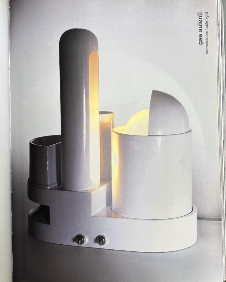 Aluminum Sculptural form 'Rimorchiatore' Table Lamp by Gae Aulenti for Candle,Italy, 1967 For Sale