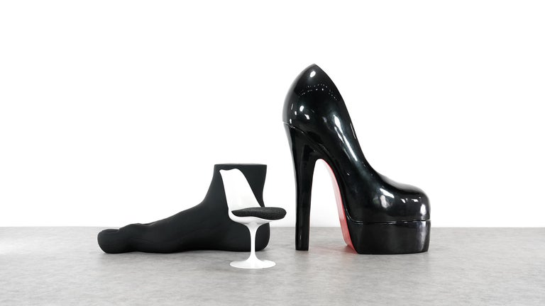 bien 19f8b dcaad Sculptural Giant Shoe, Paris, France Attributed to Christian Louboutin