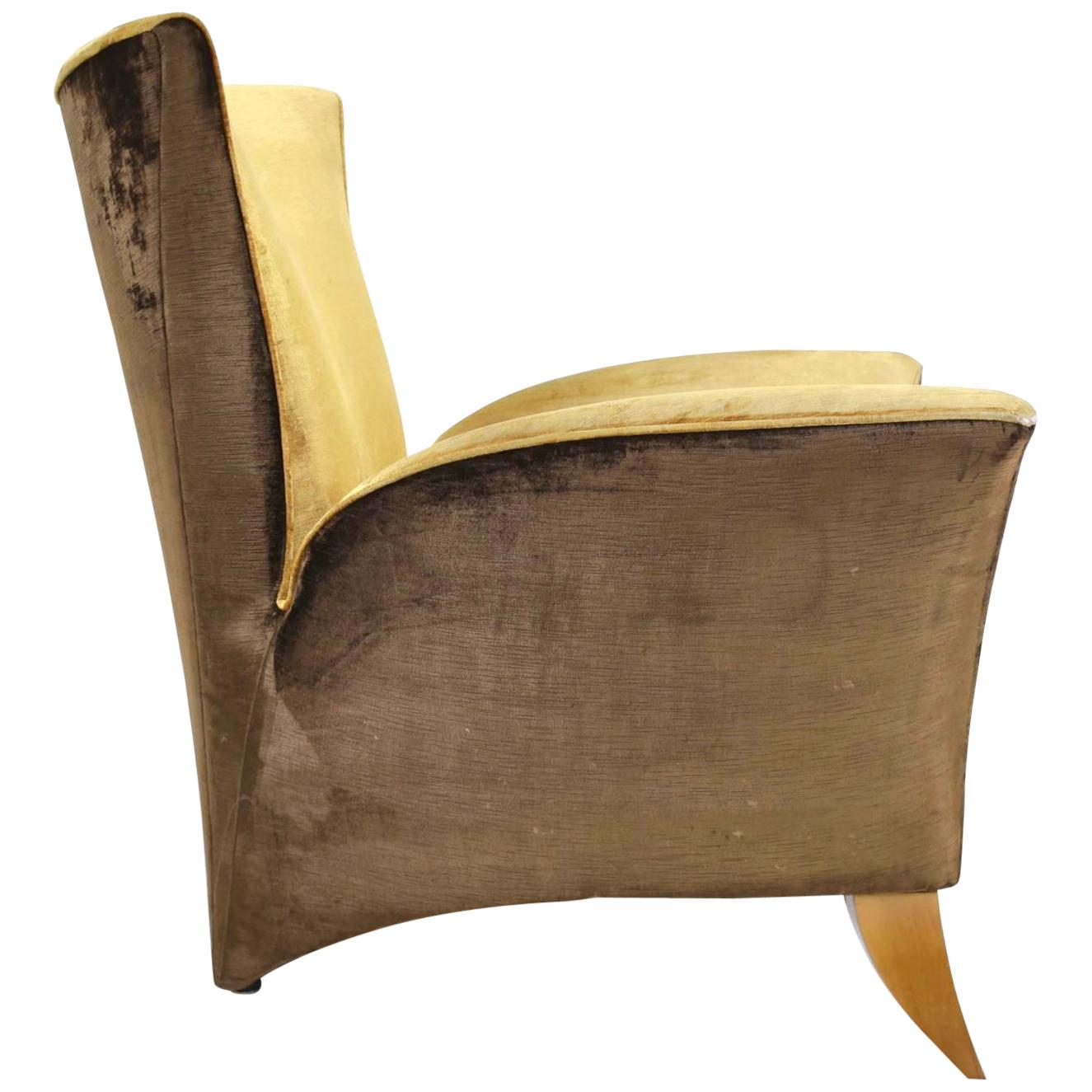 Sculptural Italian Lounge Chair, 1960s