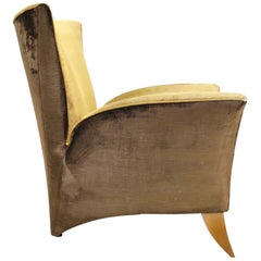 Sculptural Italian Lounge Chair, 1960s