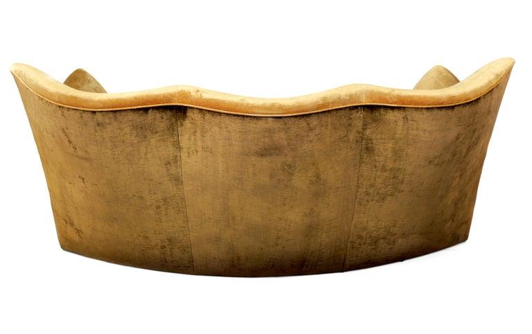 Mid-Century Modern Sculptural Italian Sofa, 1960s