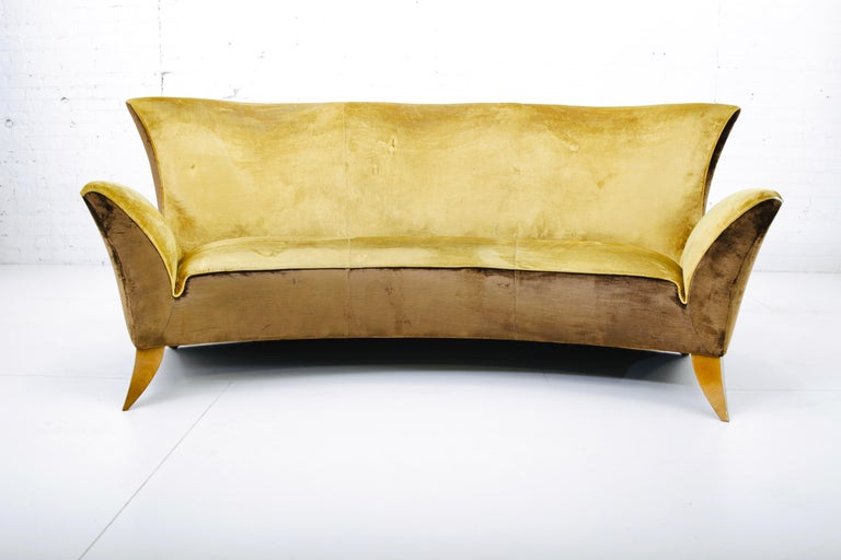 20th Century Sculptural Italian Sofa, 1960s