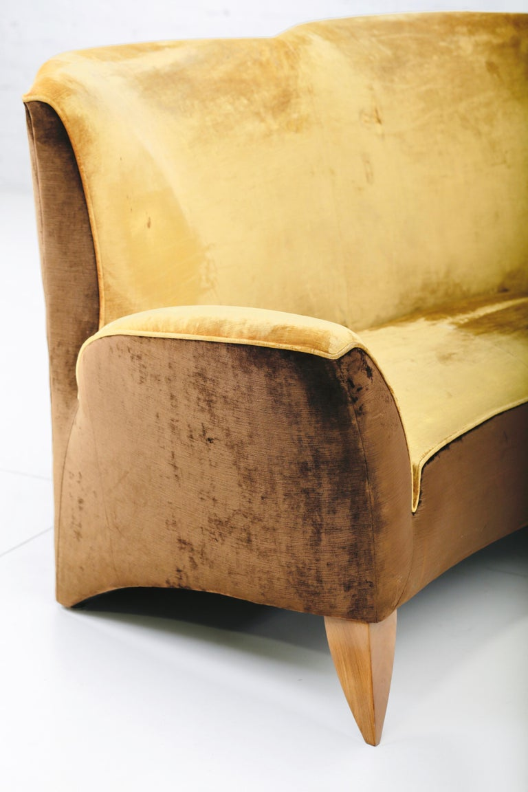 Sculptural Italian Sofa, 1960s 1