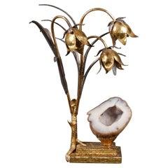 Sculptural Lamp by Jacques Duval Brasseur
