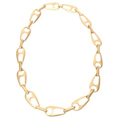 Sculptural Link Necklace Attributed to Alexis Kirk
