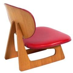 Sculptural Lounge Chair by Junzo Sakakura