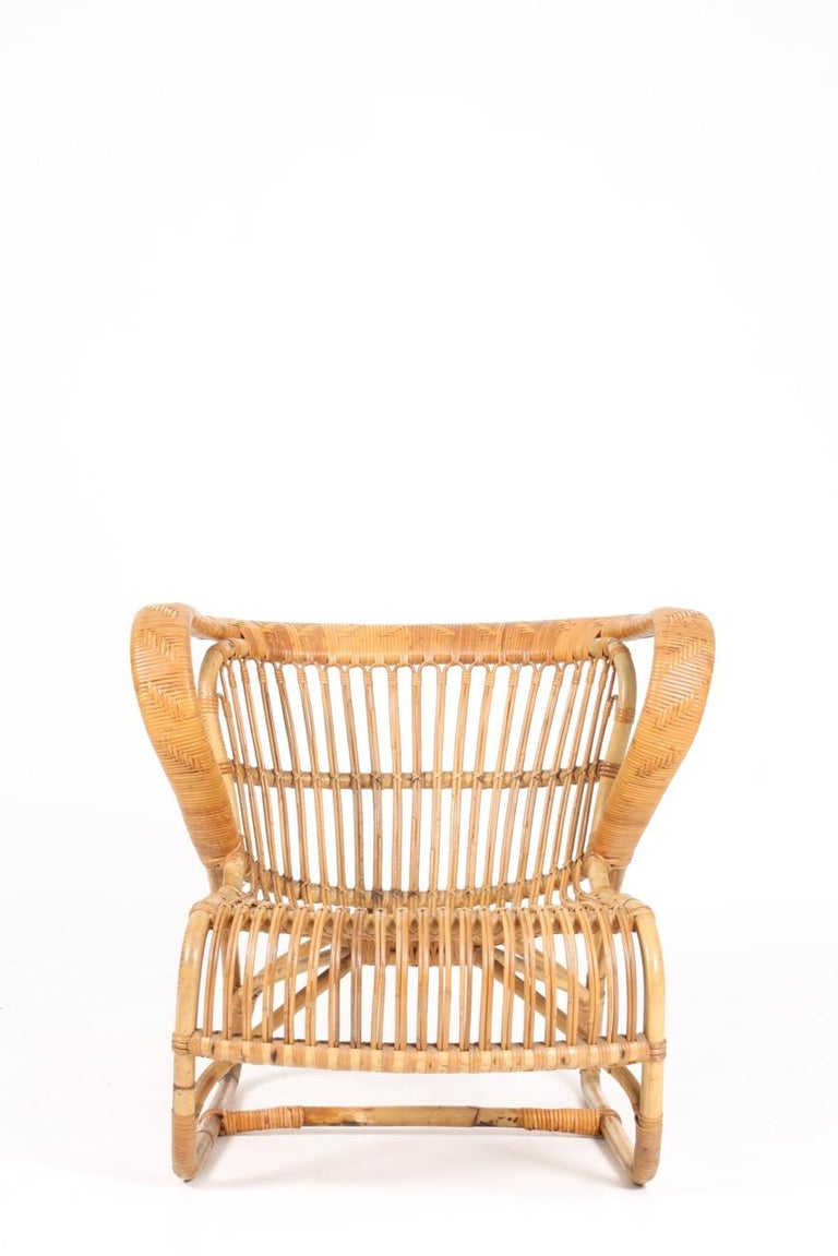 Great looking bamboo chair. Designed and made in Denmark. Great original condition.