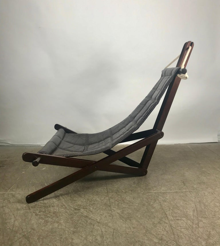 Brazilian Sculptural Lounge Sling, Dominic Michaelis