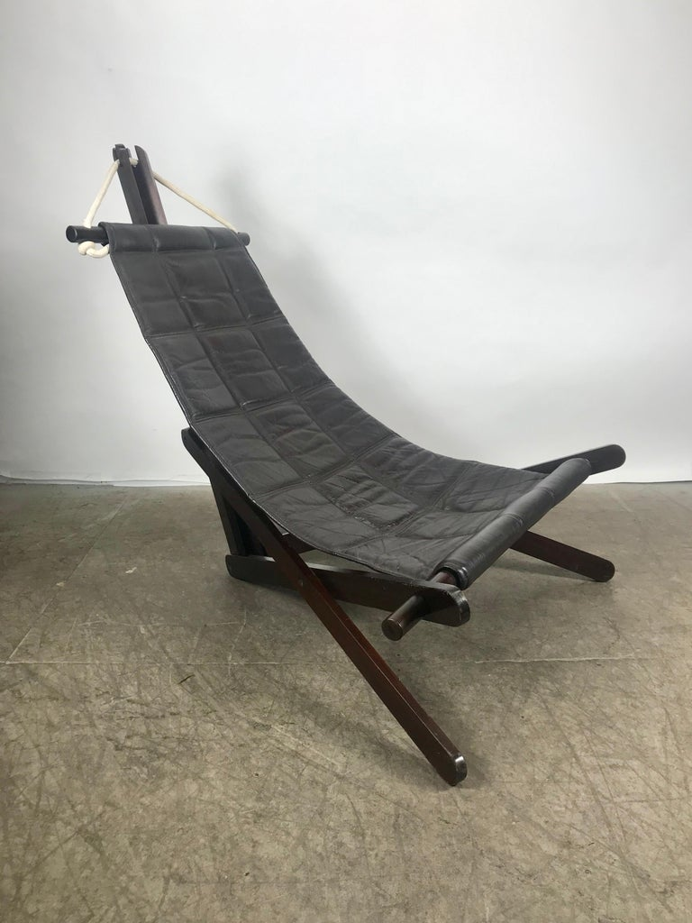 Sculptural Lounge Sling, Dominic Michaelis