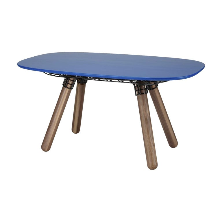 "Sculptural ""Magnum"" Dinner Table, Pierre Favresse For Sale"