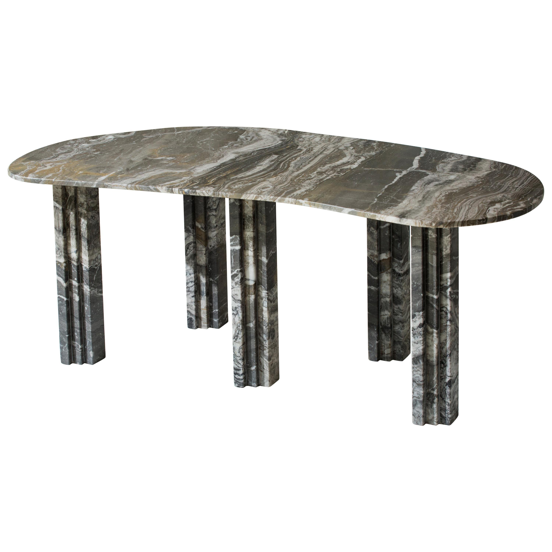 Sculptural Marble Coffee Table, Lorenzo Bini