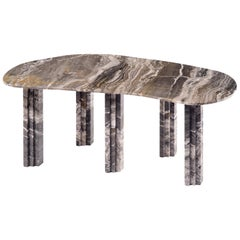Sculptural Marble Dining Table, Lorenzo Bini