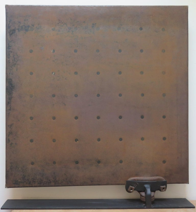 Mid-19th Century Sculptural Metal Radiator Patented, 1854 For Sale