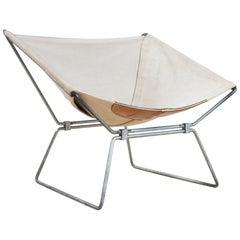 Sculptural Mid-Century Modern Anneau Lounge Chair by Pierre Paulin, 1955 Polak