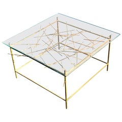 Sculptural Mid Century Modern Coffee Table