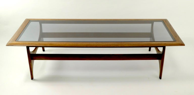 Sculptural Mid Century  Silhouette Coffee Table by Lane Furniture For Sale 5
