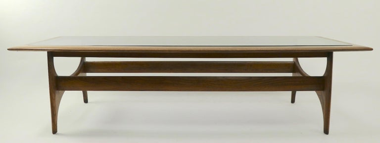 20th Century Sculptural Mid Century  Silhouette Coffee Table by Lane Furniture For Sale