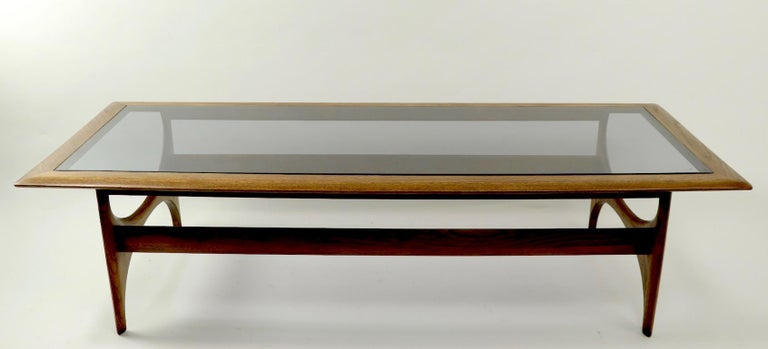 Sculptural Mid Century  Silhouette Coffee Table by Lane Furniture For Sale 2