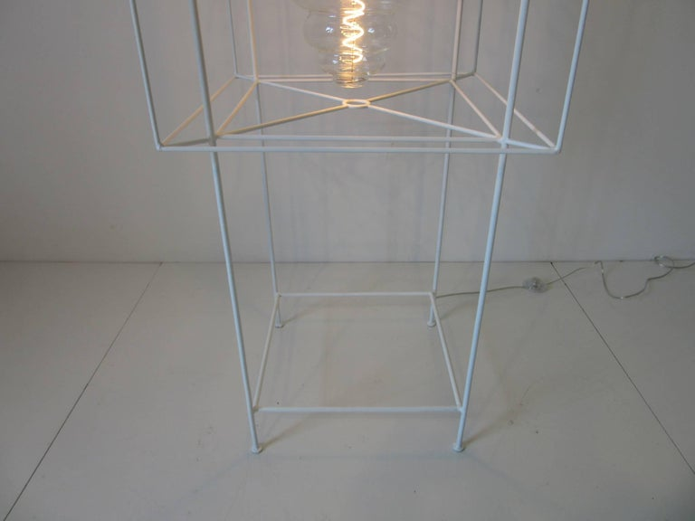 20th Century Sculptural Midcentury Floor Lamp in the Style of Frederick Weinberg For Sale
