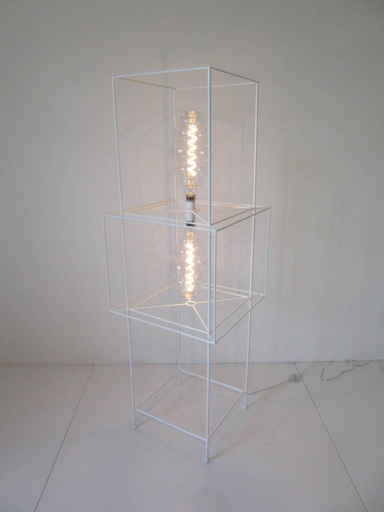 Sculptural Midcentury Floor Lamp in the Style of Frederick Weinberg For Sale 3