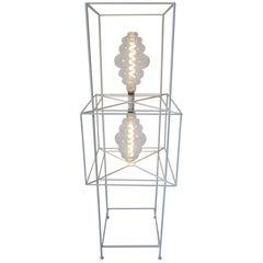 Sculptural Midcentury Floor Lamp in the Style of Frederick Weinberg