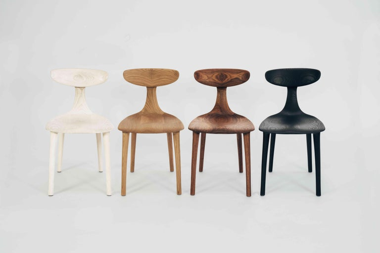 Sculptural Miranda Chair in White Oak by Matthew Sellens of SylvanRay For Sale 1
