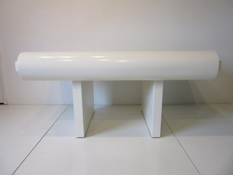 20th Century Sculptural Modern Pedestal Desk in the Style of Steve Chase For Sale