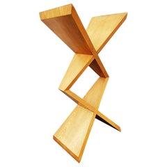 Sculptural Oak Bookcase Design, 1970s