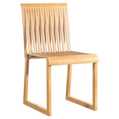 Sculptural Oak 'Comb' Chair by Shin and Tomoko Azumi