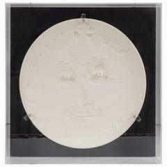 Sculptural, Pablo Picasso, Ceramic Plate